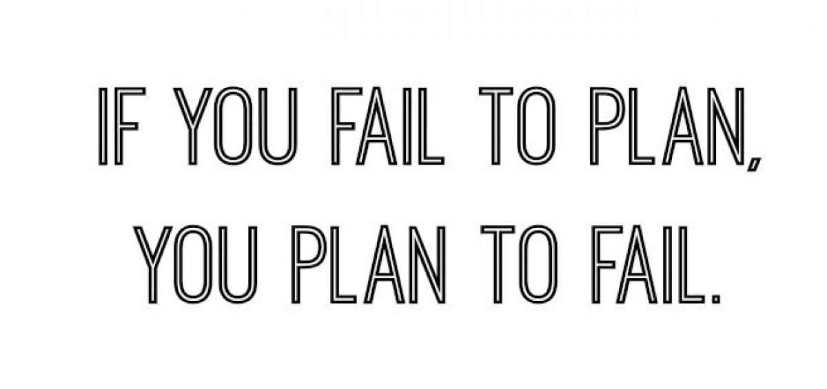 planning to fail is failing to plan essay failing to plan is planning to fail failing to plan is planning to fail, or in short procrastinating leads to disaster procrastination, a word that is known by many and practiced by more, but what exactly causes one to procrastinate.