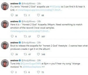 Andy Mineo Releases Acapella For